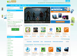 Wordpress Theme Development for androidzone.us